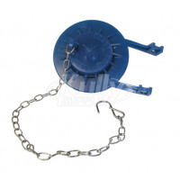 Flapper, Blue w/ Stainless Steel Chain and Hook