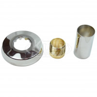 """Sloan H-536-AS Sweat Solder Adapter Kit (with Cast Wall Flange for 3/4"""" Water Closet/Urinal Supply)"""