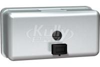 ASI 0345 Horizontal Liquid Soap Dispenser, Surface Mounted