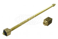 """Zurn 66955-324-9 Operating Rod Assembly - up to 24"""""""