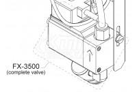 Intersan FX-3500 Istromic Burkert Valve Assembly