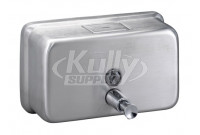 Bradley 6542 Surface Mount Horizontal Liquid Soap Dispenser