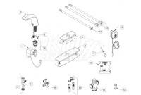 Zurn Z6956-XL Cumberland Faucet Parts Breakdown