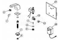Zurn Z6903-77 AquaSense Faucet Parts Breakdown