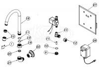 Zurn Z6903-75 AquaSense Faucet Parts Breakdown
