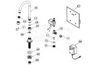 Zurn Z6903-76 AquaSense Faucet Parts Breakdown