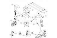 Zurn Z6950-XL-S Aqua-FIT Serio Faucet Parts Breakdown