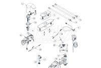 Zurn Z6950-XL-IM-S Aqua-FIT Serio Faucet Parts Breakdown