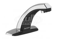 Sloan EBF-85-4-BAT-TEE-CP-0.5GPM-MLM-IR-BT-FCT Bluetooth Sensor Faucet