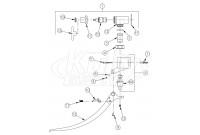 Zurn Z85100-WM Single Foot Pedal Valve Parts Breakdown