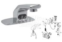 Zurn Z6912 AquaSense Faucet Parts Breakdown