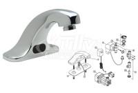 Zurn Z6915 AquaSense Faucet Parts Breakdown