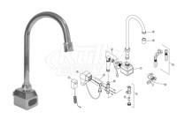 Zurn Z6922 AquaSense Faucet Parts Breakdown