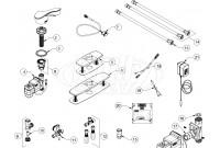 Zurn Z6951-XL Aqua-FIT Fulmer Faucet Parts Breakdown