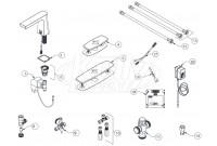 Zurn Z6953-XL Camaya Faucet Parts Breakdown
