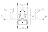 Zurn Z85500-LM Double Foot Pedal Valve Parts Breakdown