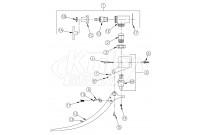 Zurn Z85500-WM Double Foot Pedal Valve Parts Breakdown