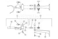 Zurn Z85700 Knee Action Valve Parts Breakdown