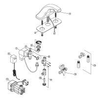 Sensor Faucet Parts Breakdowns